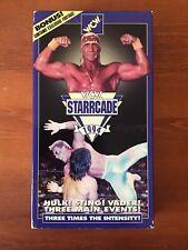 WCW Starrcade 1994 VHS WWF WWE NWA WRESTLING HULK HOGAN STING