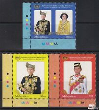 [SS] Malaysia 2012 Installation of His Majesty Agong BOTTOM LEFT STAMP SET