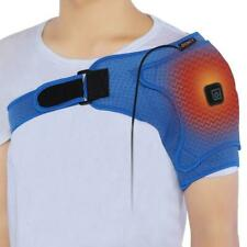 Heated Shoulder Pad Belt Breathable Therapy Thermal Heating Support Protector AT