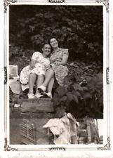 Vintage Photo -girls Embracing, Lesbian/Gay interest- c1940s