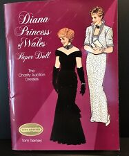 DIANA PRINCESS of WALES Paper Doll Book The Charity Auction Dresses UNCUT 1997