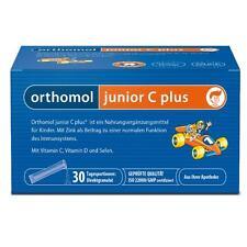 ORTHOMOL Junior C plus Granulat 30 Beutel für 30 Tage PZN 10013216 plus Proben
