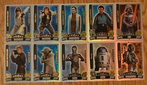 Force Attax Movie Card Serie 3 LE limitierte Auflage aussuchen Topps Star Wars