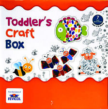 Toddler's Craft Box Hobby Ideas Art & Craft Use For (Pack Of 1) by fevicol