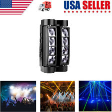 2020 RGBW DJ Spider Moving Head Stage Lighting 80W Beam LED Disco Party Lights