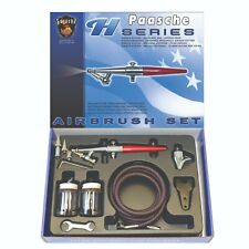 PAASCHE H-SERIES SINGLE ACTION SUCTION FEED AIRBRUSH KIT INCLUDES 3 HEAD SETS