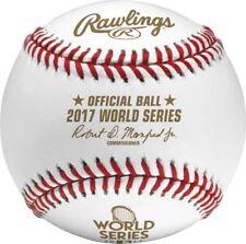 QTY 12 - Rawlings 2017 World Series MLB Official Game Baseball - Boxed - 1 Dozen
