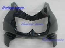 Front Nose Cowl Upper Fairing For Kawasaki Ninja 250R 2008-2012 EX250 Black