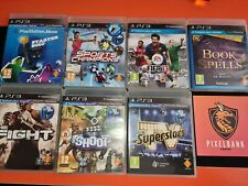 7 x Game Collection for PS Move - Playstation 3 PS3