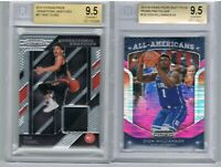 2018 Prizm Trae Young Swatches + 2019 Zion Williamson Pink Pulsar BGS 9.5 lot