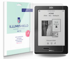 iLLumiShield Anti-Glare Matte Screen Protector 3x for Kobo eReader Touch 6""