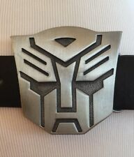 Official Transformers AUTOBOT Belt Buckle Color