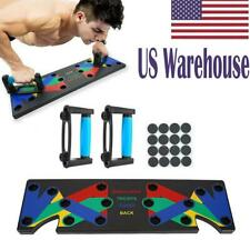 9 In 1 Push Up Rack Board Body Muscle Training Fitness Gym Exercise Stands Tool