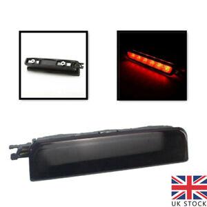 For VW Caddy 3rd Center Centre High Level Rear Brake Light Lamp 2004-15 BLACK UK