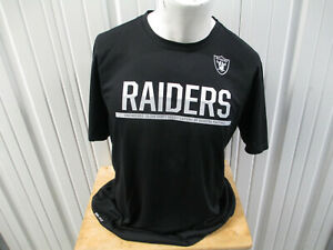 NIKE NFL LAS VEGAS OAKLAND RAIDERS XL BLACK DRI-FIT TRAINING SHIRT NEW W/ TAGS