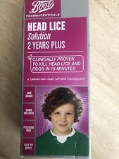 Boots SOLUTION HEAD LICE 15 MINUTE TREATMENT 2 Years plus