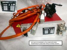 Vehículo eléctrico Brusa NLG 513 EV Cargador Enchufe enchufes y cables Nissan Leaf Etc