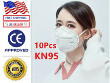 [10 PACK] KN95 Disposable Protective Face Mask 5-LAYERS K-N95 Certified Safety