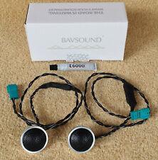 2x Bavsound Stage One BMW Upgrade 5 Series E39 Rear Door DSP Tweeter Speaker