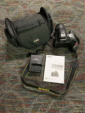 Used d3300 nikon Shipping Included