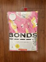Bonds Baby Girl Cockatoo Pink Short Sleeve Summer Romper Size 1 BNIP