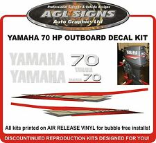 1998 - 2001 YAMAHA 70 HP Outboard Decal Kit  reproductions  60 85 90 HP also