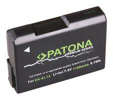 PATONA Premium Akku f. Nikon EN-EL14 Coolpix P7800 P7700 P7000 D5300