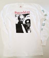 POISON IDEA T-Shirt Hail Satan Vintage L/S LG Mint Anton Lavey Sammy Davis Jr.