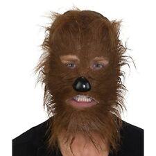 Brown Werewolf Mask Costume Cosplay Teen Wolf Wolverine Wolfman Chewbacca Wookie