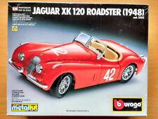 BURAGO Jaguar XK 120 Roadster 1948..New 1:24 kit..Parts in unopened packaging