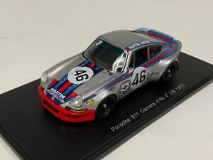 1/43 Spark Porsche 911 Carrera Martini Car #46 4th 1973 24 H  LeMans S0931 W403
