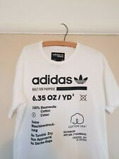 Adidas Built For Purpose Immaculate T Shirt •M• Rare RUN DMC Originals Vintage