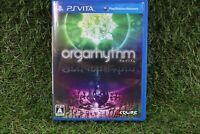 USED PS Vita Orgarhythm sony playstation from JAPAN