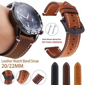 Leather Wrist Watch Band Strap For Huawei Watch GT 2E 46mm 2 Classic Pro Active