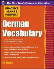 Practice Makes Perfect German Vocabulary (Practice Makes Perfect-ExLibrary