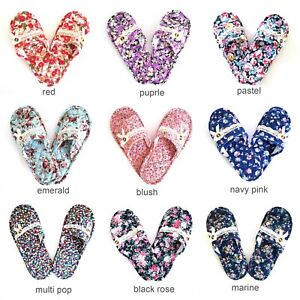 Cotton Quilted Machine Washable Double-padded Non-slip Slip-on Indoor Slippers