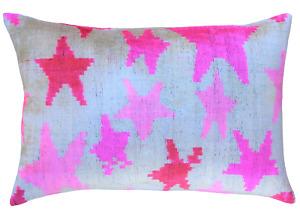 Handmade Luxury 100% Silk Velvet Decorative Contemporary Design Pillow +insert