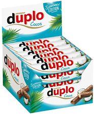Ferrero Duplo Cocos Schokolade Kokos 40 Schokoriegel - 728g - MHD: 19.09.2021