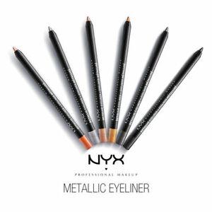 NYX Metallic Eyeliner Waterproof Choose Your Shade New Sealed