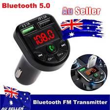 Wireless Car Kit FM Transmitter Bluetooth Radio MP3 Music Player USB Charger AU
