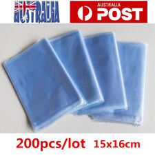 200pcs Heat Shrink Wrap Bags For Soap Bath Bomb Packaging Handmade Craft 15*16cm
