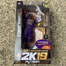 McFarlane NBA 2K19 Lebron James Lakers Purple NTWRK Exclusive 20th Anniversary