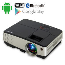Portable Android Wifi Home Theater Projector Bluetooth Online Video Game HDMI US