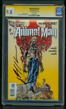 Animal Man #1 (2011) CGC Graded 9.8 Signature Series Jeff Lemire ~ New 52
