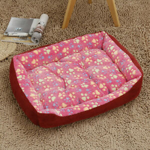 Dog bed with pet cushion