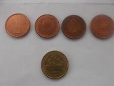 unterschiedl. Cent-Münzen aus EU-Ländern
