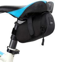 #QZO Bicycle Bike Waterproof Storage Saddle Bag Seat Cycling Tail Rear Pouch