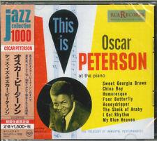 OSCAR PETERSON-THIS IS OSCAR PETERSON-JAPAN 2 CD Ltd/Ed C94