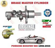 Pour Porsche Boxster 986 2.5 2.7 3.2 96-2004 Neuf Original Frein Maître Cylindre