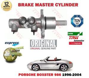 FOR PORSCHE BOXSTER 986 2.5 2.7 3.2 96-2004 NEW ORIGINAL BRAKE MASTER CYLINDER